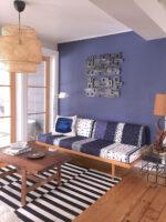 LR nook blue wall